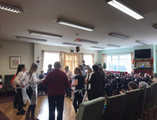 Annual Christmas Visit to Clarecastle Daycare Centre